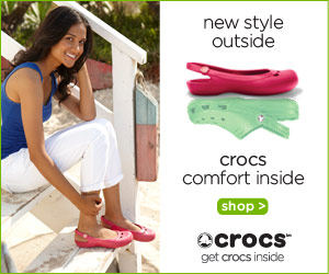 $10 off $50 Purchase at Crocs.com thru 2/28